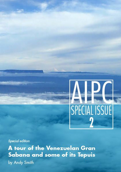 AIPC Special Issue 2: The Venezuelan Gran Sabana and Tepuis